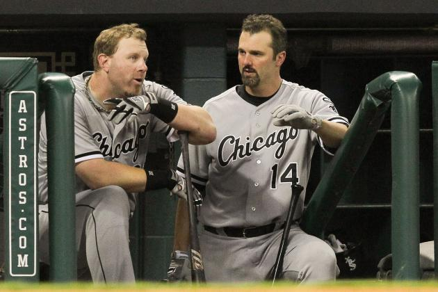 Konerko Battles His Back to Keep Sox Career Alive