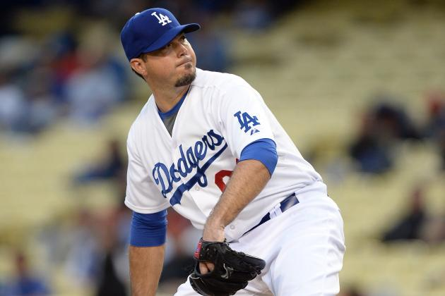 Dodgers' Josh Beckett: 'I'd Throw ... and I Couldn't Feel My Hand'