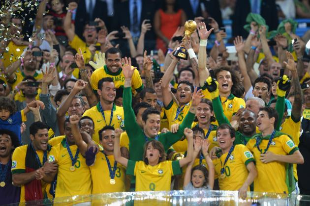 Spain vs. Brazil: Must-See Moments from 2013 Confederations Cup Final