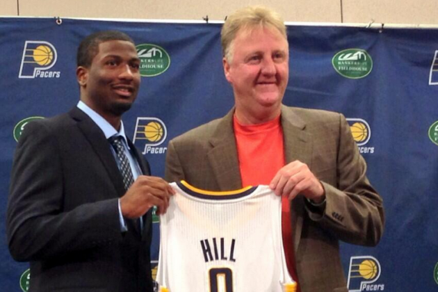 Image: Solomon Hill Receives His New Jersey