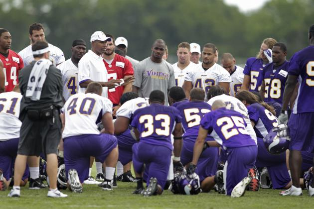 Vikings Release Training Camp Schedule