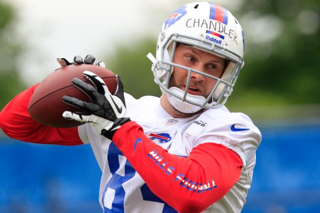 Conditioning Is Scott Chandler's Only Camp Concern