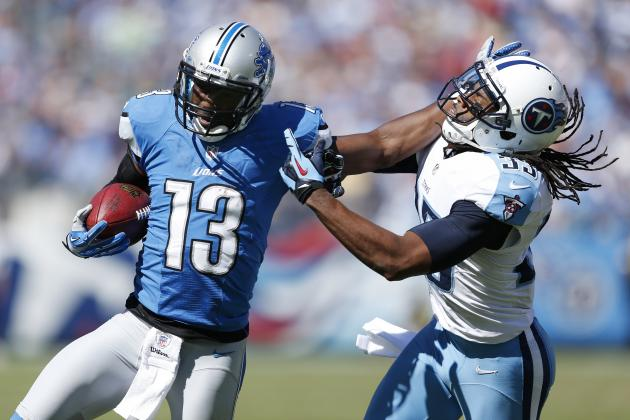 A Healthy Nate Burleson Is Good News for Lions Offense