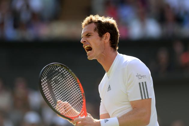 Andy Murray Defeats Mikhail Youzhny to Advance at 2013 Wimbledon