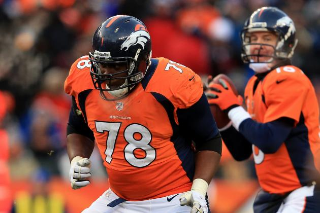 Ryan Clady and Denver Broncos Far Apart on New Contract