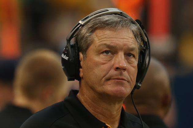 Here's What Kirk Ferentz Thinks About the No-Huddle Offense