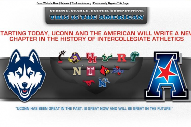 UConn's Official Website Makes American Athletic Conference Blunder