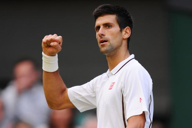 Novak Djokovic Defeats Tommy Haas to Advance at 2013 Wimbledon