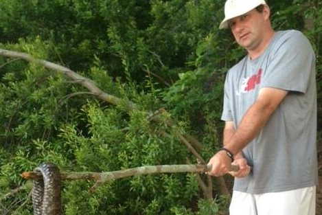Alabama Football: Kirby Smart Kills Giant Snake (PHOTO)