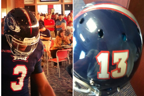 FAU Football: New Blue Helmets Unveiled (PHOTOS)
