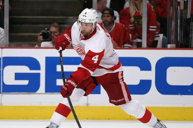 Red Wings Sign Defenseman Jakub Kindl to Four-Year, $9.6 Million Contract