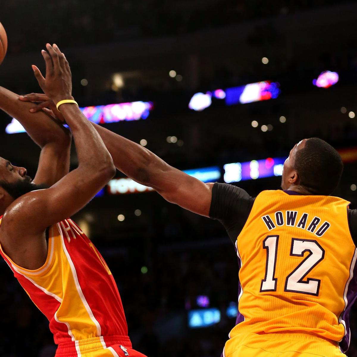 James Harden Free Agency: Rockets Rumors: Pros And Cons Of Dwight Howard, James
