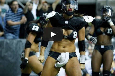 'Greatest Hit in Football History,' According to the Lingerie Football League