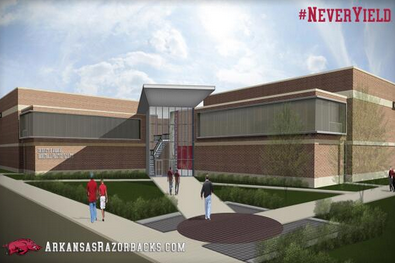 Photos: Arkansas Releases Renderings of New Athletics Facilities