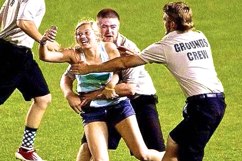 Girl Rushes Field at College World Series and Manages Greatest Selfie in Sports