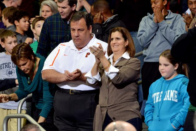 Gov. Christie Salutes Rutgers Leadership