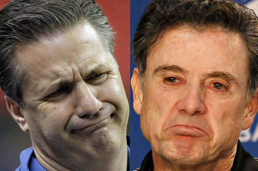 The Hatred Between Rick Pitino & John Calipari Is Genuine