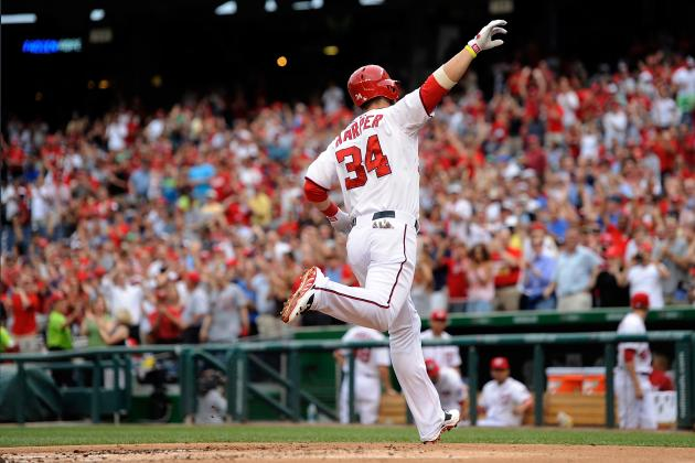 Bryce Harper Hitting 3rd Is Best Option for Struggling Nationals Offense