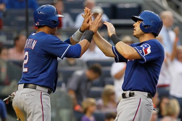 Handing out 1st-Half Awards for the Texas Rangers