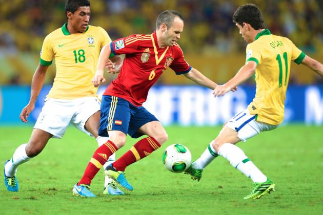 How Brazil Cracked Spain's Unbreakable Code with Felipe Scolari's Tactics