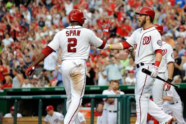 Bryce Harper Homers in Return from DL as Nationals Beat Brewers, 10-5