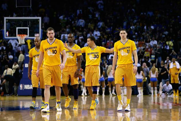 Breaking Down Potential Rotations For Golden State Warriors in 2013-14