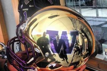 Washington Football: New Gold Chrome Helmets? (PHOTO)