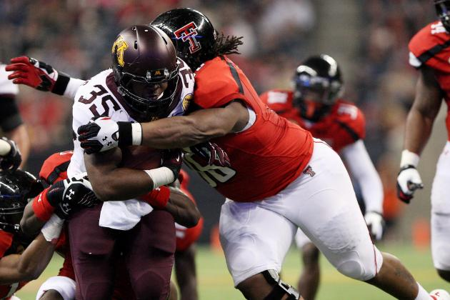 Talent Is There, but Depth Is Issue Along Texas Tech's Defensive Line