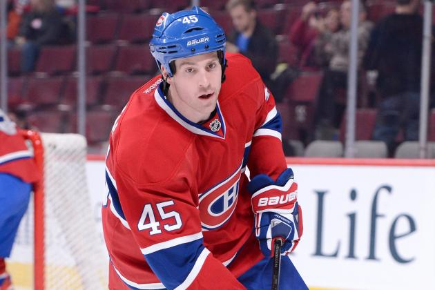 Canadiens Re-Sign Forward Blunden