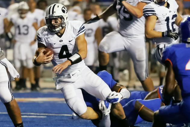 BYU Football's Taysom Hill Might be the Nation's Biggest Surprise This Year