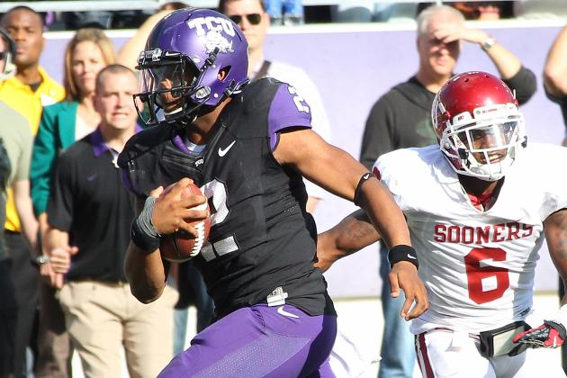 TCU Safety Carter Displays Leadership Skills On, off Field