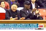 Dennis Rodman Wants Nobel Peace Prize