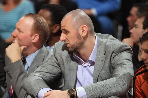 Rumor: Suns Talking with Spurs About Marcin Gortat Deal