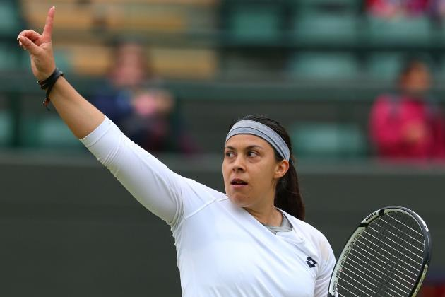 Marion Bartoli wins her Quarterfinal Match over Sloane Stephens!