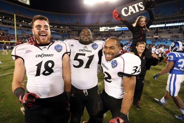 Football Named UC Team of the Year