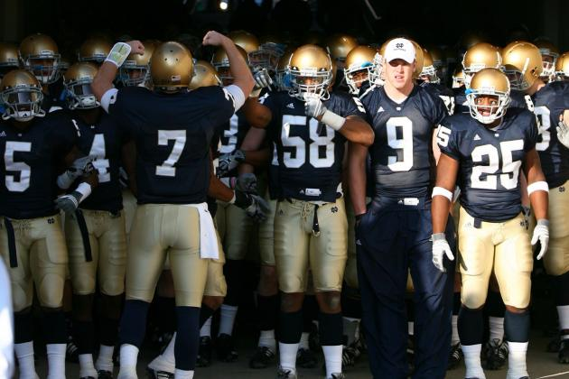 UNC Football: Tar Heels to Visit Notre Dame in 2014