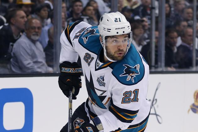 Sharks Trade TJ Galiardi to Calgary for 4th-Round Pick