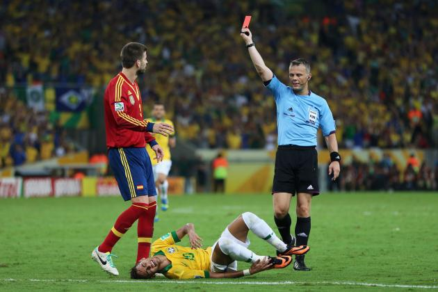 Spain vs. Brazil: Twitter Mocks Worst Performances from 2013 Confed Cup Final