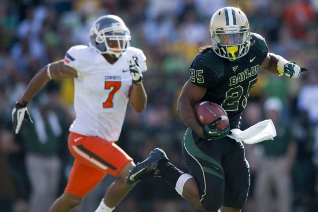 Baylor's Lache Seastrunk Came on Like Gangbusters in the Second Half