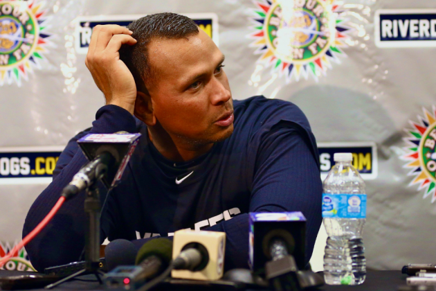 Alex Rodriguez Arrives at Single-A, Speaks to Media for 1st Time Since Drama