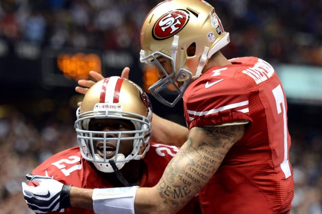 "Frank Gore Thinks Colin Kaepernick Can Get ""a Lot Better"""