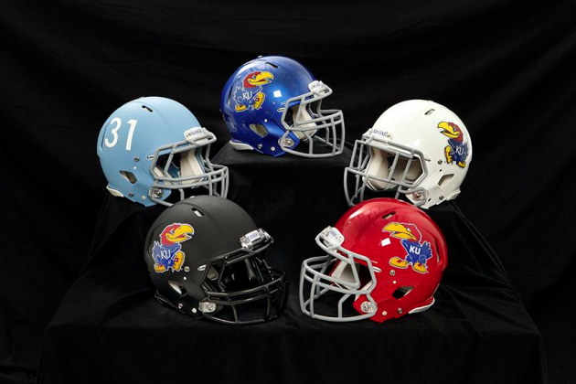 Charlie Weis Unveils Dazzling New Kansas Jayhawks Jerseys with Vine Video