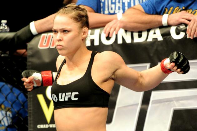 Ronda Rousey and Miesha Tate Added to UFC 168 in Las Vegas