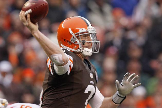 Cleveland Browns: Brandon Weeden Shouldn't Look over His Shoulder