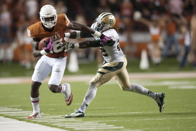 Texas Football 2013 Season Preview: Why More Carries Will Be Key