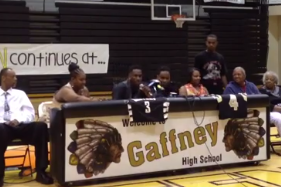 L.J. Peak Fakes Out Fans Before Pledging to Georgetown