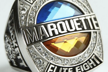 Marquette's Big East Championship, Elite Eight Rings Are Pretty Cool Too