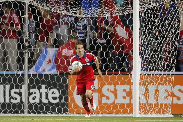 Why Mike Magee of the Chicago Fire Is the Hottest Player in MLS
