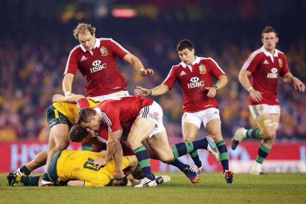 Alun Wyn Jones Named Lions' Captain vs. Wallabies