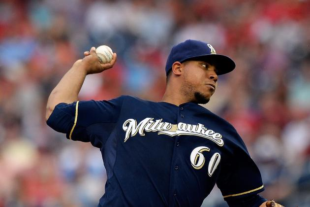 Brewers Snap Losing Streak but Wily Peralta Forced to Leave Game